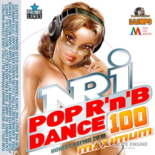 100 NRJ Maximum: Pop Dance RnB Mix (2016)