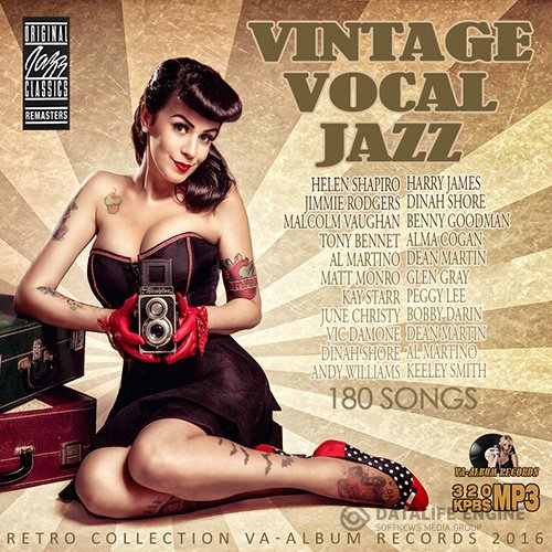 Retro Vintage: Vocal Jazz (2016)