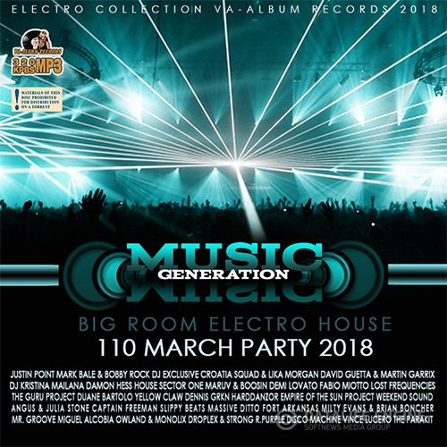 Music Generation: Big Room Electro House (2018)
