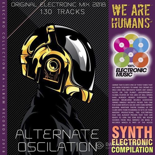 We Are Humans: Synth Electronics Mix (2018)