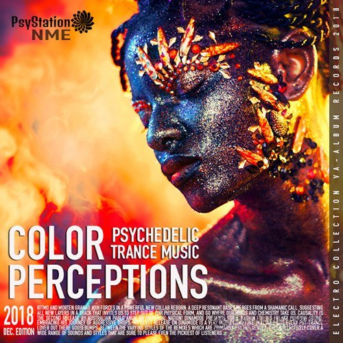 Color Perception: Psy Trance Music (2018)