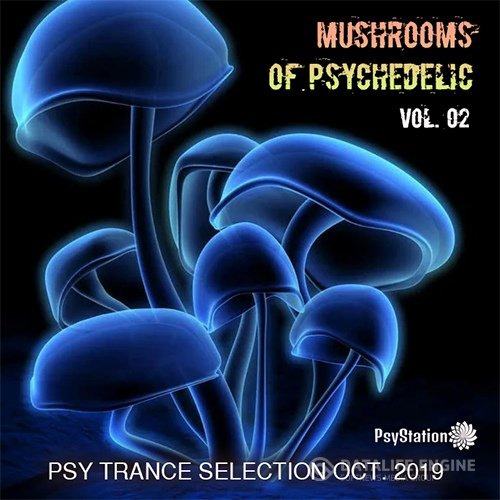 Mushrooms Of Psychedelic Vol. 02 (2019)