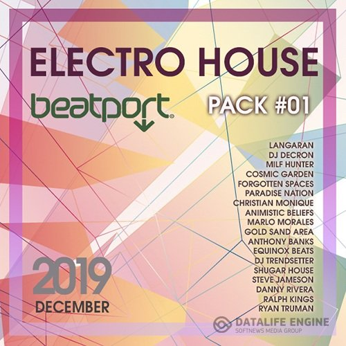 Beatport Electro House December Pack #01 (2019)