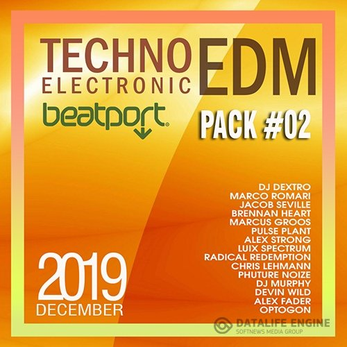 Beatport  Techno Electronic December Pack #02 (2019)