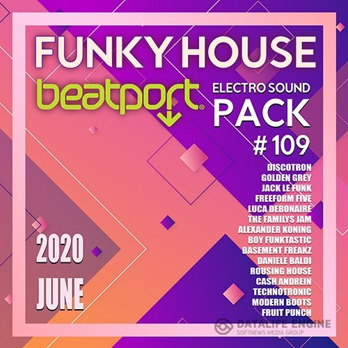 Beatport Funky House: Electro Sound Pack #109 (2020)