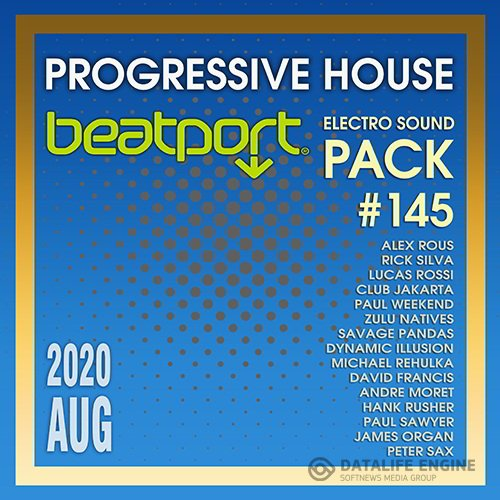 Beatport Progressive House: Electro Sound Pack #145 (2020)