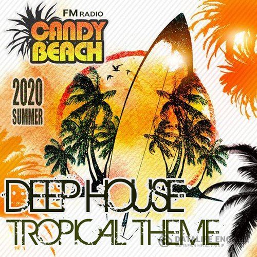 Candy Beach: Deep House Tropical Theme (2020)