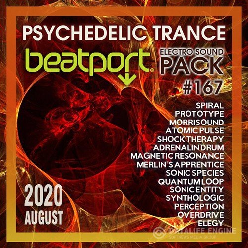 Beatport Psychedelic Trance: Electro Sound Pack #167 (2020)