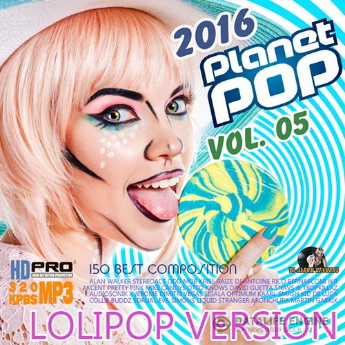Planet Pop Vol. 05: Lolipop Version (2016)