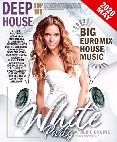 White Party: Deep House Euromix (2020)