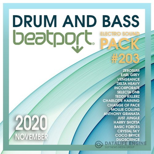 Beatport Drum And Bass: Electro Sound Pack #203.2 (2020)