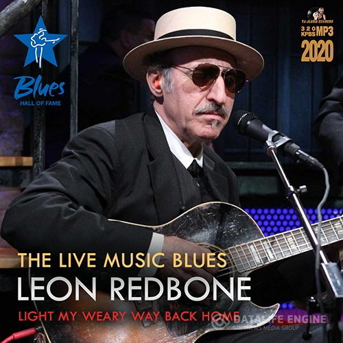 Leon Redbon -The Live Music Blues (2020)