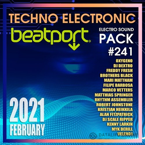 Beatport Techno Electronic: Pack #241 (2021)
